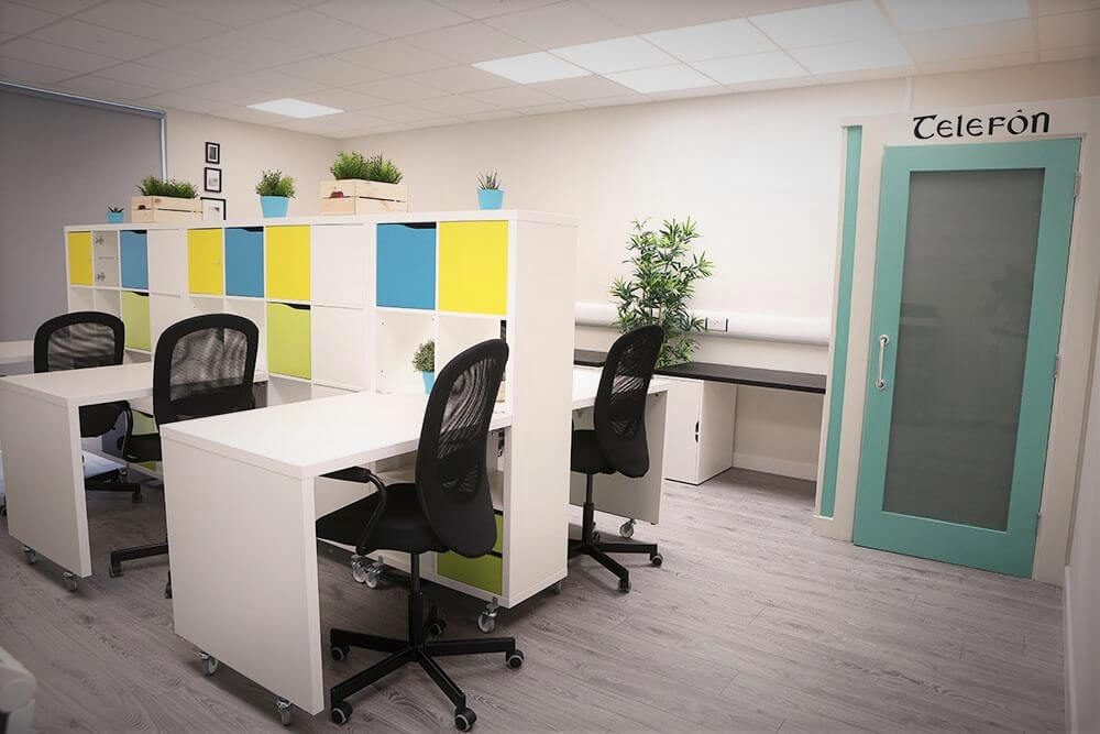 Portarlington Enterprise Centre Hotdesking Area
